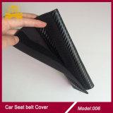 Coperchio rosso S.U.A. della cinghia di sicurezza dell'automobile della fibra del carbonio