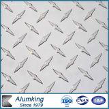 Panneau en aluminium Chequered de diamant pour l'étage antidérapant