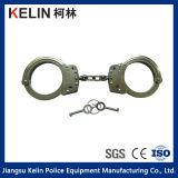Alte manette del acciaio al carbonio di quantità della polizia (HC-11W)