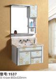 Шкаф зеркала ванной комнаты PVC ноги съемный самомоднейший с светлым шкафом ванной комнаты новых продуктов