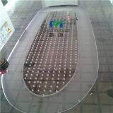 12mm Thick Polycarbonate Solid Sheet Bend für heraus Side Door Children Swing