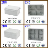 Scatola di giunzione durevole di vendita calda con il contenitore a tenuta d'acqua di ABS di plastica elettrico della ghiandola di cavo IP65