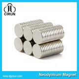 De kleine Magneet van het Neodymium van de Grootte Schijf Gesinterde voor de Doos van de Verpakking