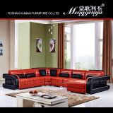 Genuina combinación de cuero del sofá (906A)