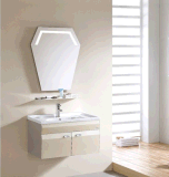Gabinete de banheiro do aço inoxidável e gabinete do metal (A6376)