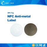 Ntag203 Kurbelgehäuse-Belüftung ISO14443A NFC Hf13.56MHz Anti-Metallkennsatz