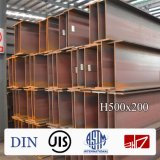 Viga/Ipe/I Beam/Q345/Ss400 de H