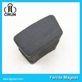 Магнит мотора феррита изготовленный на заказ формы дуги трудный