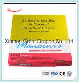 유럽 작풍 얇은 계기 물결 모양 Kraft 피자 상자 (PIZZA-004)