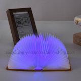 本の形USB軽い屋外夜ライトランプ