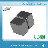 Ímãs permanentes fortes aglomerados do Neodymium do quadrado do bloco do cubo N52