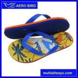 Sandalia de los deslizadores del hombre del PE de la palma de coco de la playa del verano