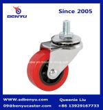 Напольный PU Caster Wheel Swivel для раздвижной двери