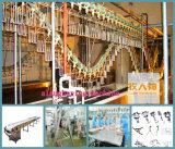 Puerta del panel que insulta en casa de las aves de corral con Constrution de acero que empareja
