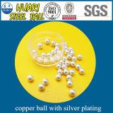 Цинк/серебр/олово/золото/кром/медь/покрынный латунью стальной шарик