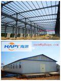 Kundenspezifische helle Stahlwerkstatt mit guter Qualität und niedrigem Preis