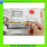 Magnifiers relativos à promoção do cartão do Magnifier do PVC de 3X 6X com régua Hw-801A