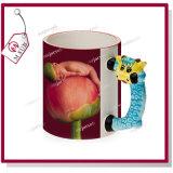 Le porc mignon conçoit la tasse 3D en céramique pour la sublimation par Mejorsub