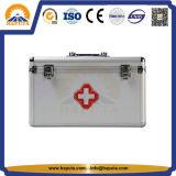 Impermeabilizar la caja médica Emergency de aluminio de las cajas de los primeros auxilios (HMC-1009)