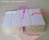 Панель сандвича шерстей утеса строительного материала пожаробезопасная