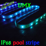 Individualmente Addressable 24/30/60/LED/M, IP68 Waterproof DMX LED Stripe