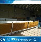 PE pp van pvc de houten-Plastic Lijn van de Uitdrijving van het Profiel