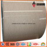 Placa interna de mármore do alumínio da cor