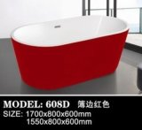 Hotel moderno Hot Selling Style Bathroom Soaking Bathtub (608B)