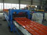 Застекленный волной стальной крен плитки формируя машинное оборудование вковки металла
