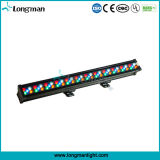 Waterproof DMX 60X3w Rgbaw LED Bar Lights para palco ao ar livre