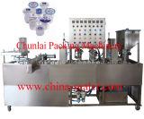 Relleno de la taza del yogur de las ventas directas de la fábrica y máquina del lacre