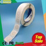 ISO18092 RFIDスマートなNTAG213 NFCは象眼細工のラベルのステッカーの札をぬらすか、または乾燥する