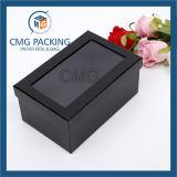 Коробка Keychain бумажная с ясным окном PVC (CMG-AUG-017)