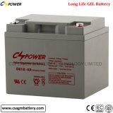 Batería profunda de plomo 12V65ah del gel del ciclo para el sistema de la UPS