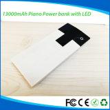 Cargador de reserva 13000mAh de la potencia del USB de la Alta-Engergy batería de la potencia del piano