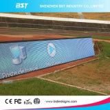IP65 Waterproof P10mm SMD3535 Outdoor Perimeter Display avec l'angle de visualisation de 140 Degree