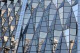 Mur rideau en verre de construction en acier économique de qualité