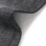 Tessuto nero del denim del poliestere dello Spandex del cotone dell'alta qualità
