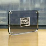 Étalages acryliques de bâti de photo de Tranparent, bâtis magnétiques de photo d'espace libre