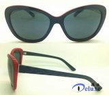 Gafas de sol plásticas de las mujeres del diseñador de moda