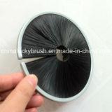 Escova material de nylon preta da tira da guita (YY-121)