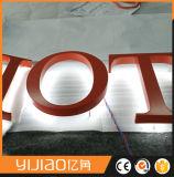 Yijiao Trasera Iluminadoled Signo Letra de Acrílico