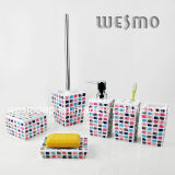 Polyresin Bathroom 또는 Bath Accessories Set (WBP0232B)