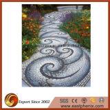 Mosaico della pietra di buona qualità per le mattonelle esterne della pietra per lastricati