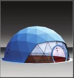 Style especial Design Big Dome Tent com Tunnel