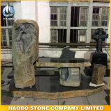 Monument van het Ontwerp van de Engel van het basalt het Hand Gesneden