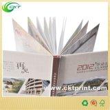 Impression mate arrière dure de livre de papier avec à l'encre noire (CKT-NB-415)