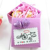 Hard quadrado Box para Candy Package