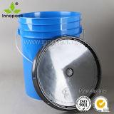 化学薬品、販売のために農業構築のためのHDPE 20Lアメリカの様式によって着色されるプラスチックバケツ