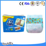 Wegwerfbaby-Windel China-Evy mit PET Film